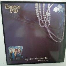 Discos de vinilo: THOMPSON TWINS- LAY YOUR HANDS ON ME - SPAIN MAXI SINGLE 1984 - VINILO EXC. ESTADO.. Lote 221790962