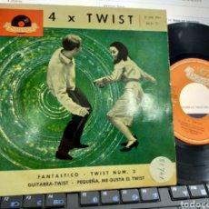 Discos de vinilo: WERNER SCHARFENBERGER EP 4 X TWIST ESPAÑA 1962. Lote 221790998