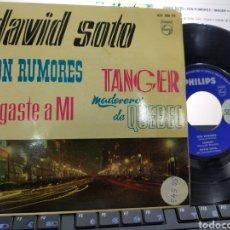 Discos de vinilo: DAVID SOTO EP SON RUMORES + 3 ESPAÑA 1961. Lote 221791312