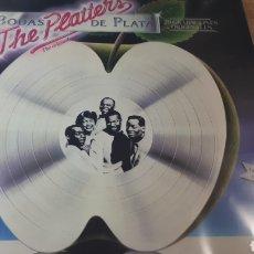 Discos de vinilo: THE PLATTERS BODAS DE PLATA. Lote 221791631