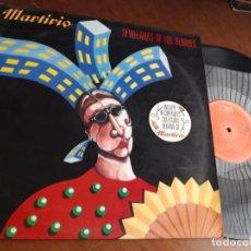 Discos de vinilo: MARTIRIO SEVILLANAS DE LOS BLOQUES/LA PERLA/LA OTRA CASA MAXI 1988 CBS ESPAÑA. Lote 221792845