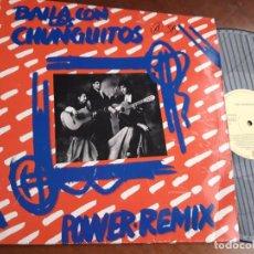 Discos de vinilo: LOS CHUNGUITOS ?– BAILA CON LOS CHUNGUITOS (POWER REMIX)-ESPAÑA-1990-MAXI. Lote 221794405