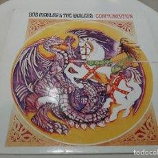 Discos de vinilo: BOB MARLEY & THE WAILERS -CONFRONTATION- LP DISCO VINILO. Lote 221794718
