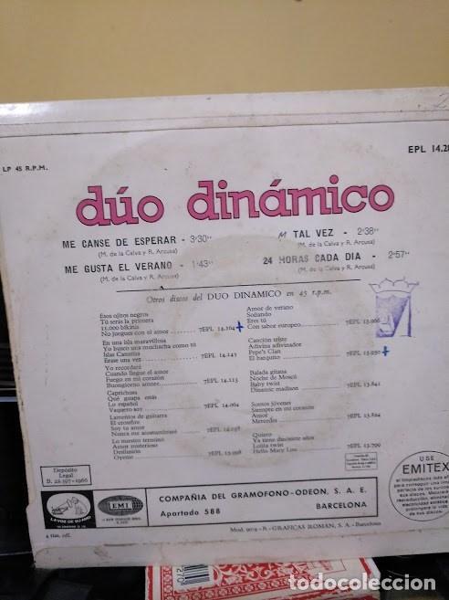 Discos de vinilo: Dúo Dinámico Ep , Tal vez - Foto 2 - 221795081