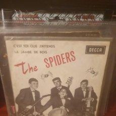 Discos de vinilo: THE SPIDERS / LA JAMBE DE BOIS / DECCA 1963. Lote 221795275