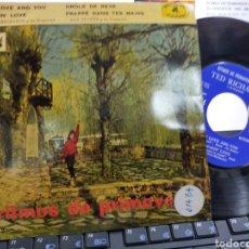 Discos de vinilo: TED RICHARDS / SAX SUCCES EP RITMOS DE PRIMAVERA NUM.2 ESPAÑA 1960. Lote 221799988