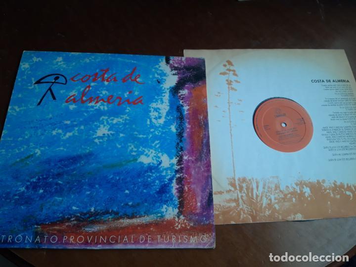 COSTA DE ALMERÍA - A LA SOMBRA DE UN PITACO - 12'' MAXISINGLE CHUMBERA 1988 - TOMATITO- (Música - Discos de Vinilo - Maxi Singles - Grupos Españoles de los 70 y 80)