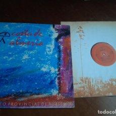 Discos de vinilo: COSTA DE ALMERÍA - A LA SOMBRA DE UN PITACO - 12'' MAXISINGLE CHUMBERA 1988 - TOMATITO-. Lote 221801802