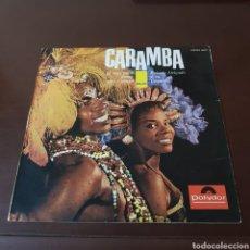 Discos de vinilo: CARAMBA - EÑ MAS PURO RITMO AFRO-CUBANO - ROBERT DELGADO Y SU ORQUESTA. Lote 221802328