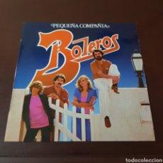 Discos de vinilo: PEQUEÑA COMPAÑIA - BOLEROS. Lote 221803341
