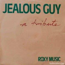 Discos de vinilo: ROXY MUSIC. ( BRYAN FERRY ). JEALOUS GUY. A TRIBUTE, SINGLE ESPAÑA. Lote 221803585