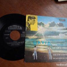 Discos de vinilo: DAVID - CANTA - DIME SI ME QUIERES (VERSION EN CASTELLANO) + 3 IBERIA 1971-MUY RARO-. Lote 221803987