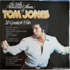 Discos de vinilo: TOM JONES-20 GREATEST HITS, DECCA TJD 1/1 & 1/2, UK. Lote 221804005