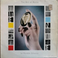 Discos de vinilo: THE ART OF NOISE-IN VISIBLE SILENCE, CHRYSALIS CHR 1528. Lote 221807157