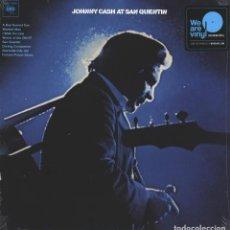 Discos de vinilo: LP JOHNNY CASH AT SAN QUENTIN VINILO 180G. Lote 221813756