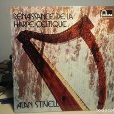 Discos de vinilo: LP ALAN STIVELL : RENAISSANCE DE LA HARPE CELTIQUE. Lote 221814887