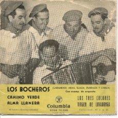 Discos de vinilo: LOS BOCHEROS,CAMINO VERDE. Lote 221819063