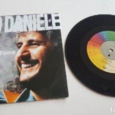 Disques de vinyle: PINO DANIELE SINGLE ´O SCARRAFONE (DOS CARAS). Lote 221819531
