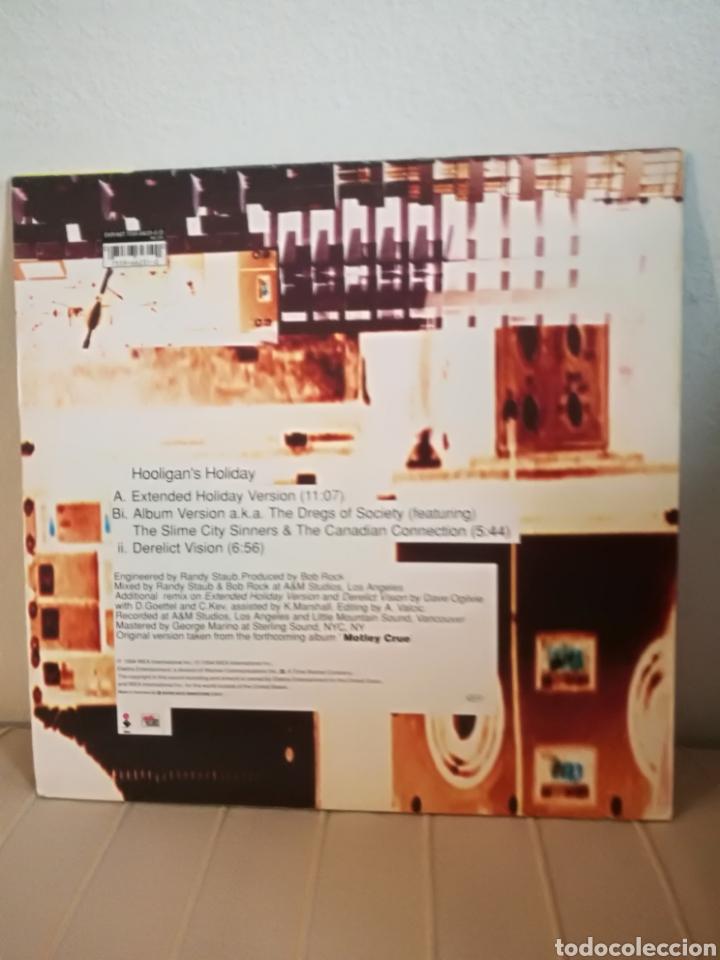 Discos de vinilo: Motley Crue - Hooligans holiday (limited edition 12 pulgadas). - Foto 2 - 221820858