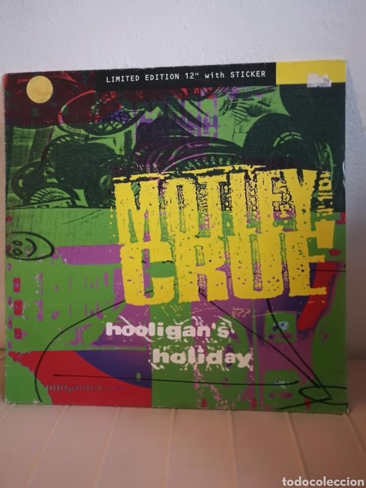 MOTLEY CRUE - HOOLIGAN'S HOLIDAY (LIMITED EDITION 12 PULGADAS). (Música - Discos de Vinilo - Maxi Singles - Heavy - Metal)