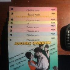 """Discos de vinilo: LOTE 8 LPS """"MUSICA PARA JOVENES CARROZAS"""". Lote 221821467"""