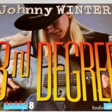 Disques de vinyle: V1116 - JOHNNY WINTER. 3RD DEGREE. LP VINILO. Lote 221822906
