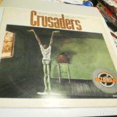 Discos de vinilo: MAXI SINGLE CRUSADERS. NIGHT LADIES MEGASTREET. MCA 1984 UK (DISCO PROBADO Y BIEN, EDICIÓN INGLESA). Lote 221823636