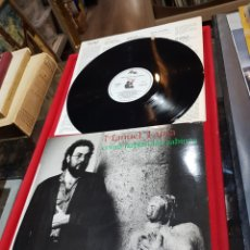 Discos de vinilo: LP MANUEL LUNA CÓMO HABLAN LAS SABINAS 1987 VG. Lote 221824613