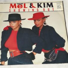 Discos de vinilo: MEL & KIM - SHOWING OUT - 1986. Lote 221826312