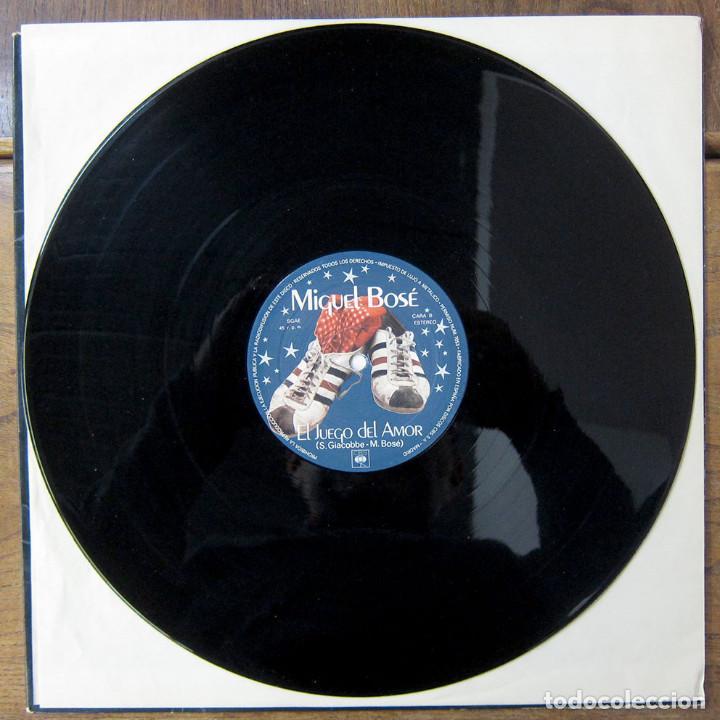Discos de vinilo: MIGUEL BOSÉ - ANNA (EN INGLÉS) / EL JUEGO DEL AMOR - 1978 - PROMOCIONAL - Foto 4 - 221827072