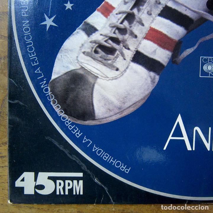 Discos de vinilo: MIGUEL BOSÉ - ANNA (EN INGLÉS) / EL JUEGO DEL AMOR - 1978 - PROMOCIONAL - Foto 5 - 221827072