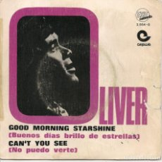 Discos de vinilo: OLIVER,GOOD MORNING STARSHINE DEL 69. Lote 221827678