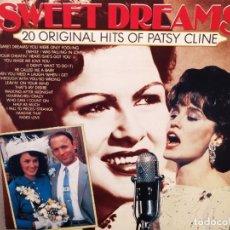 Discos de vinilo: PATSY CLINE – SWEET DREAMS : 20 ORIGINAL HITS OF PATSY CLINE, ED.ALEMANIA GRAND CANYON 35006. Lote 221828991