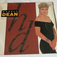 Discos de vinilo: HAZELL DEAN - WHO'S LEAVING WHO - 1988. Lote 221829700