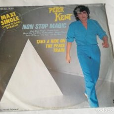 Discos de vinilo: PETER KENT - NON STOP MAGIC - 1982. Lote 221830085