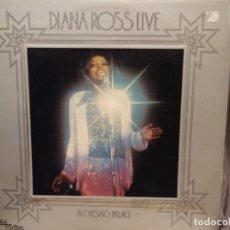 Discos de vinilo: DIANA ROSS: LIVE AT CAESARS PALACE ED ESPAÑA TAMLA MOTOWN ? S-32.573 1974. Lote 221830640