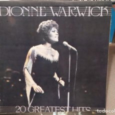 Discos de vinilo: DIONNE WARWICK: 20 GREATEST HITS ED. ESPAÑA MOVIEPLAY 14.2430/0. Lote 221830750