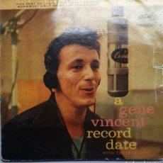 Discos de vinilo: GENE VINCENT EP ORIGINAL SPAIN. Lote 221831783