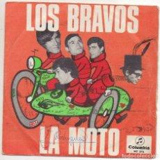 Discos de vinilo: LOS BRAVOS LA MOTO Y OTRA. Lote 221831958