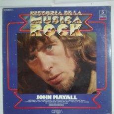 Discos de vinilo: LP DISCO DE VINILO 1981 HISTORIA DE LA MUSICA ROCK JOHN MAYALL - ORBIS - 200G. Lote 221833550