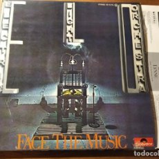 Disques de vinyle: ELECTRIC LIGHT ORCHESTRA - FACE THE MUSIC ********** EDICIÓN ESPAÑOLA 195 GRAN ESTADO. Lote 221838115
