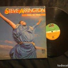Discos de vinilo: STEVE ARRINGTON ?– FEEL SO /. REAL SOUL-DISCO. Lote 221838430