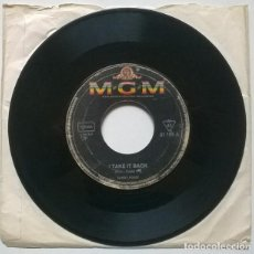 Discos de vinilo: SANDY POSEY. THE BOY I LOVE/ I TAKE IT BACK. MGM, GERMANY 1967 SINGLE. Lote 221840785