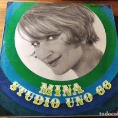 Discos de vinilo: MINA - STUDIO UNO 66 ****** RARO LP ORIGINAL ITALIANO 1966. Lote 221841008