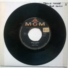 Discos de vinilo: SANDY POSEY. BORN A WOMAN/ CAUTION TO THE WIND. MGM, GERMANY 1966 SINGLE. Lote 221841272