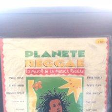 Discos de vinilo: PLANET REGGAE. RECOPILACIÓN.. Lote 221844902