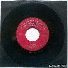 Discos de vinilo: CARL MANN. PRETEND/ JERRY LEE LEWIS. OLD BLACK JOE. REQUEST, HOLLAND 1971 SINGLE. Lote 221845550