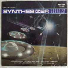 Discos de vinilo: SYNTHESIZER GREATEST (LP, ALBUM) (ARCADE) 02 3810 21. Lote 204984171