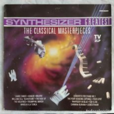 Discos de vinilo: SYNTHESIZER GREATEST - THE CLASSICAL MASTERPIECES (2XLP, ALBUM) (1991,ES). Lote 221851311