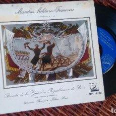 Discos de vinilo: E.P (VINILO) DE BANDA DE LA GUARDIA REPUBLICANA DE PARIS AÑOS 50. Lote 221863403